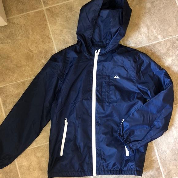 6a5c75f50b Boys' Quicksilver Fleece-lined Rain Jacket. M_5b6e10c11e2d2d48950f7f1a